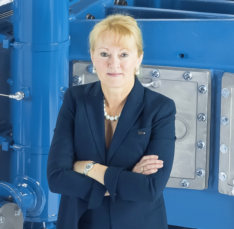 Karen Buchwald Wright, President & CEO of Ariel Corporation